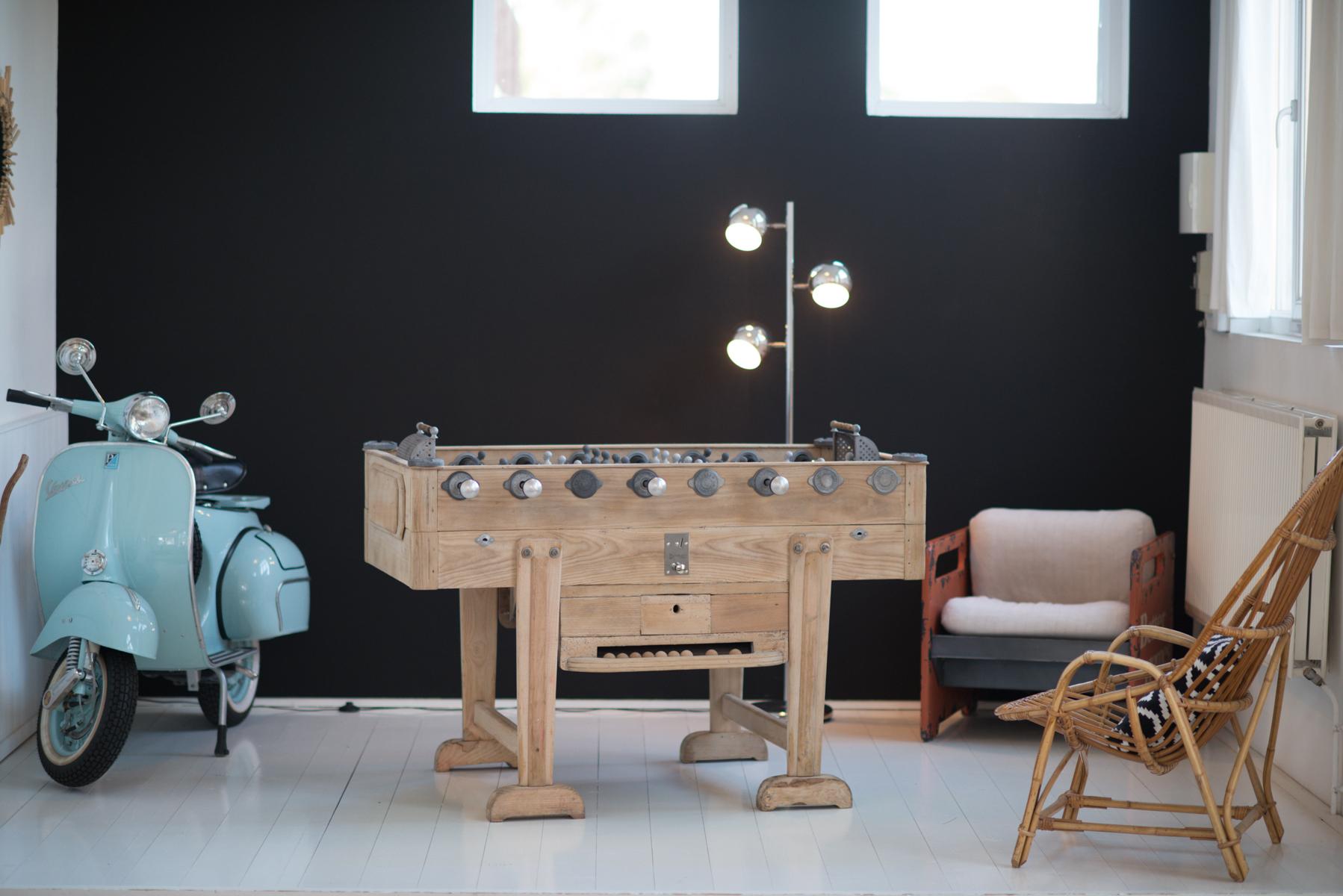 babyfoot vintage debuchy by toulet. Black Bedroom Furniture Sets. Home Design Ideas