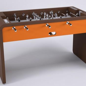 debuchy by toulet baby foot modern T22 orange chocolat
