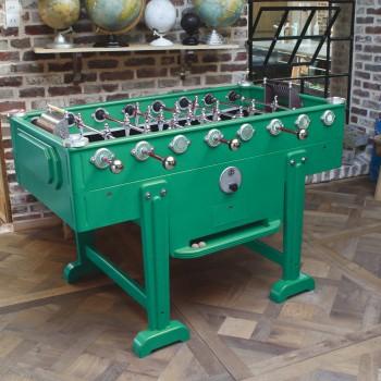 baby-foot vintage vert