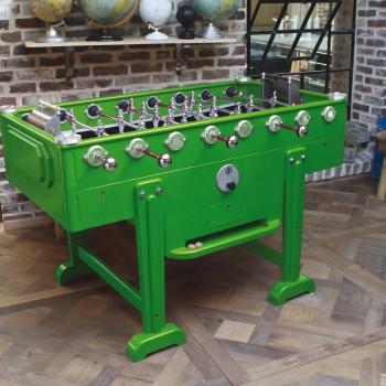 baby foot vintage vert