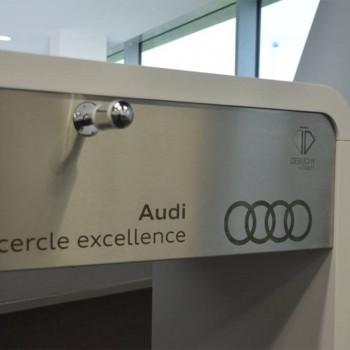 baby-foot personnalisé Audi